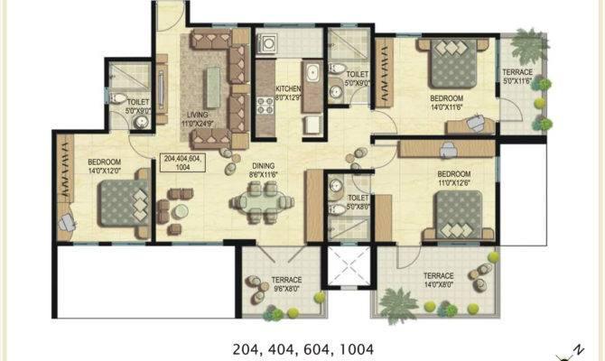 Bhk Bungalows House Plans Joy Studio Design Best