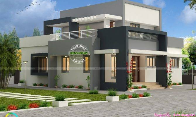 Bhk Contemporary Design Vasthu Compatible Kerala Home