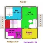 Bhk East Face Duplex House Plan Map Youtube
