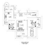 Bhk House Plan Kerala Sqft Ground Floor