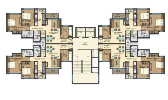 Bhk House Plans Floor Plan
