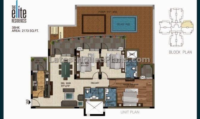 Bhk Plans Apartment Floor House