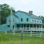 Big Blue Farm House Dream Home Ideas Pinterest