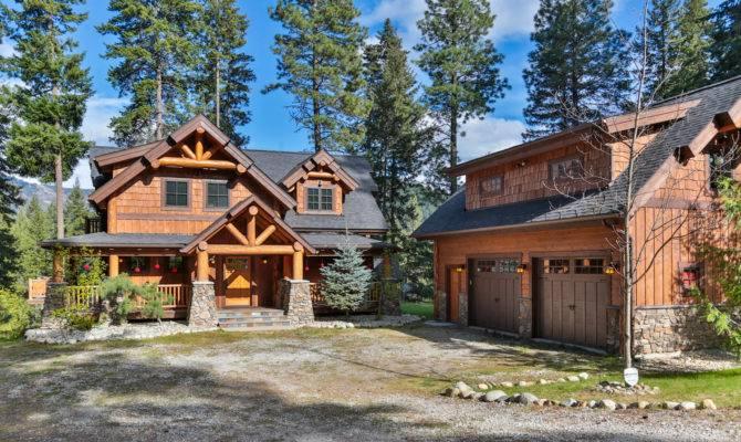 Big Chief Mountain Lodge Main Floor Plan Shown Below