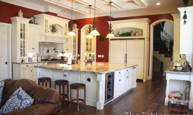 Big French Country Kitchen Nice Decor Pinterest