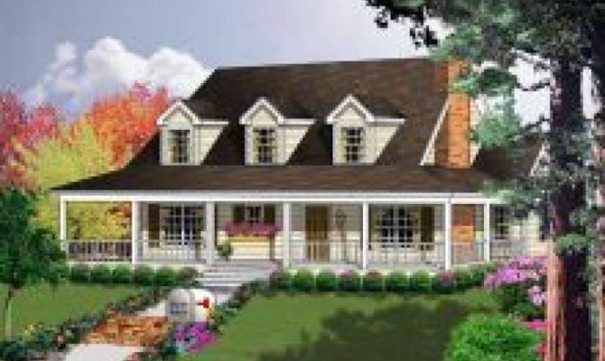Big Front Porch House Plans Home Design Style