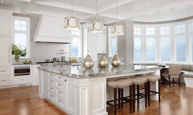 Big Kitchen Island Home Decor Inspiration Pinterest
