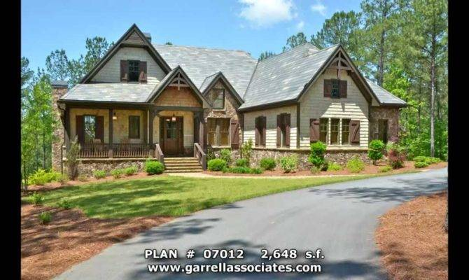 Big Mountain Lodge House Plan Garrell Associates Inc Michael