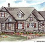 Big Mountain Lodge House Plan Plans Garrell Associates