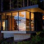 Big Window Modern Lake Home Android Iphone