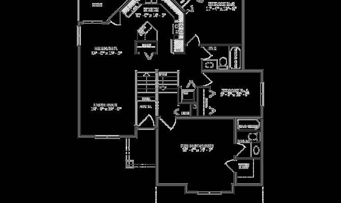 Bilevel House Plan Canada