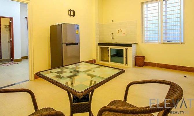 Bkk Bedroom Townhouse Rent Boeng Keng Kang Iii