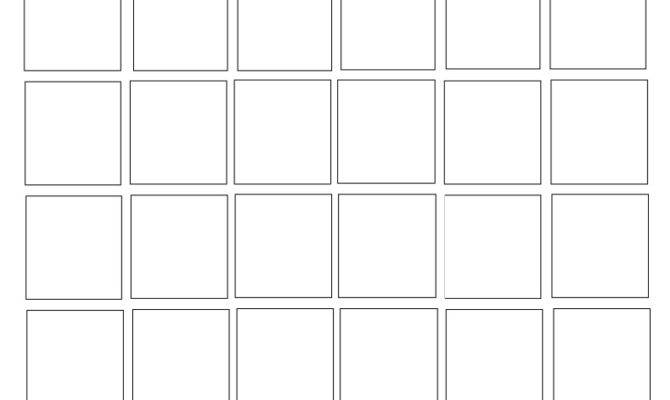 Blank Square Sized