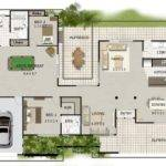 Block Home Designs Acreage House Plans
