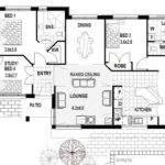 Block Home Designs Corner House Narrow Lot Floor Plans