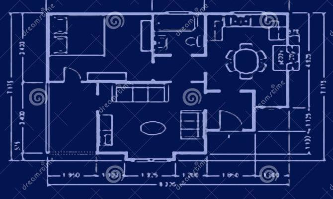 Blueprint House Plan Home Idea