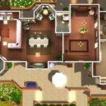 Blueprints Sims House Plans Fabulous