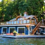 Boat Dock Ideas Deck Beach Flag Houseboat Jet