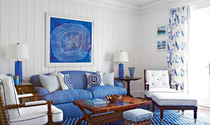 Bold Accessories Living Room Decorating Ideas Southern