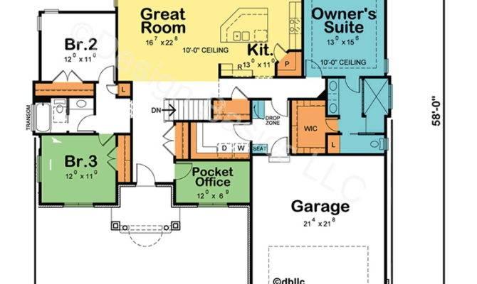 Borderline Genius One Story Home Plans Abpho