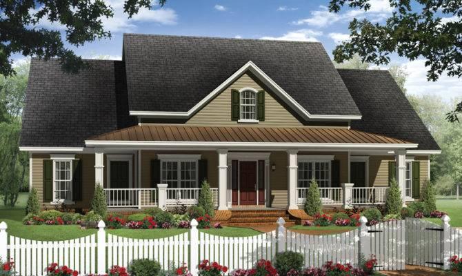 Boschert Country Ranch Home Plan House Plans