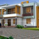 Box Style House Kerala Home Design Floor Plans