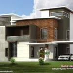 Box Type Home Plan Kerala Design