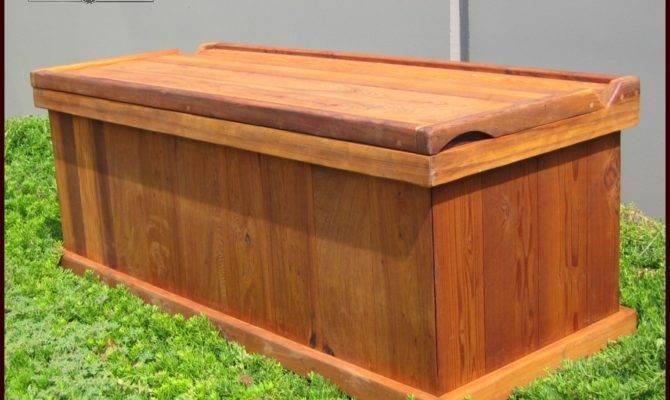 Boxes Deck Dock Redwood