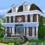 Bramden Corner House Fake Houses Real Awesome Sims
