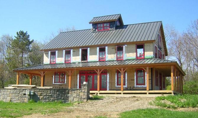 Brand New Pole Barn House Appealing Warm Retreat