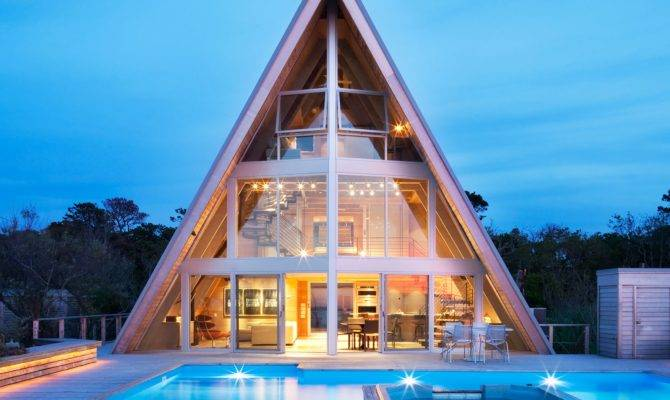 Breathtaking Contemporary Frame Homes Architectural