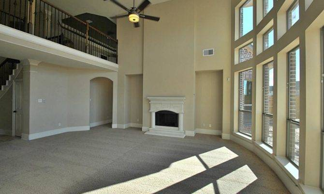 Breathtaking Two Story Upgrade Cast Stone Fireplace Look