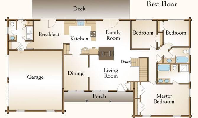 Brewster Log Home Floor Plans Custom Homes