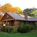 Brick Craftsman Bungalow Kork Looks Like House Grew