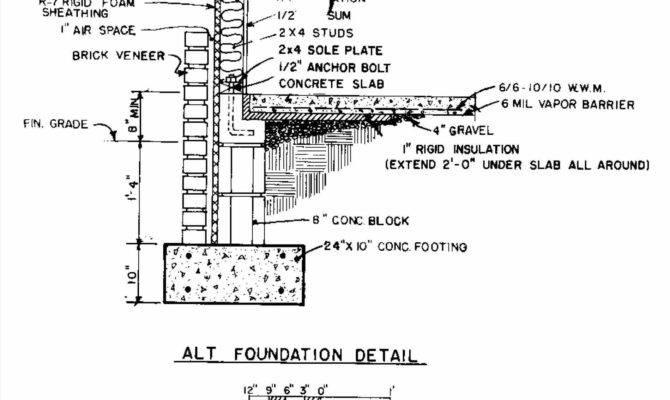 Brick Foundation Section Publizzity