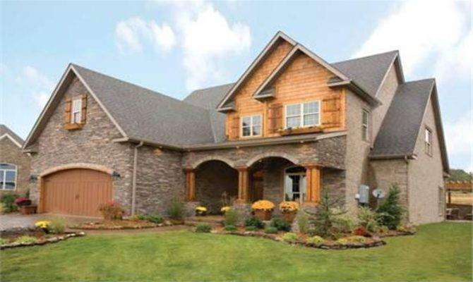 Brick Home Exterior Country House Ideas Rustic