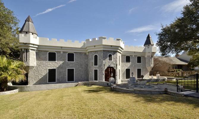 Brick Modern Castle House Plans Plan