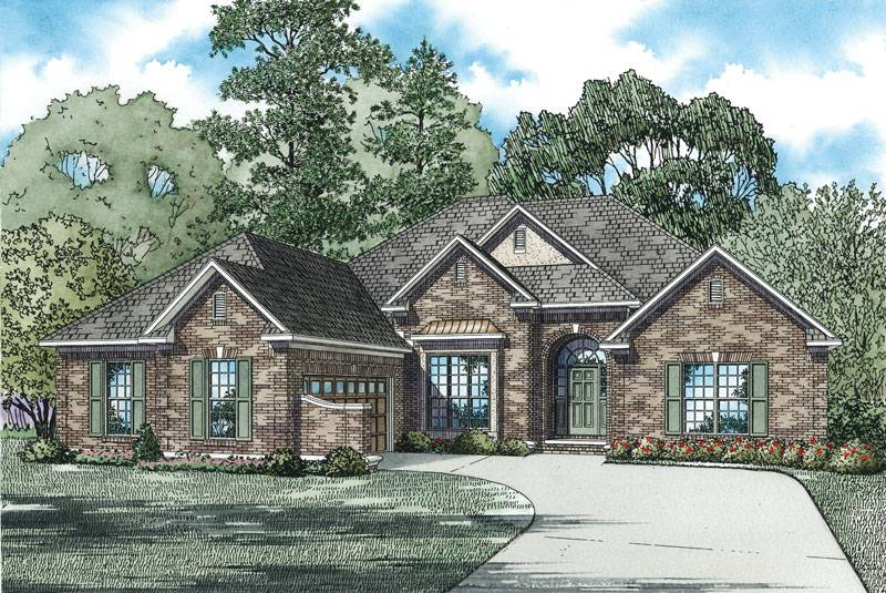 Brick One Story House Plans Quotes