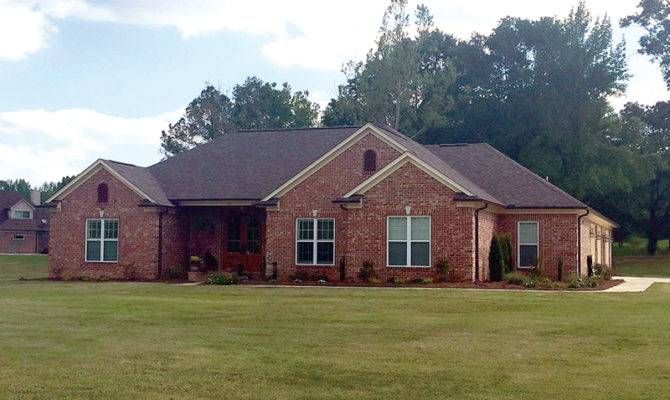 Brick Ranch Style Homes