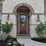 Brick Stone Exterior Combinations Front Porch Great