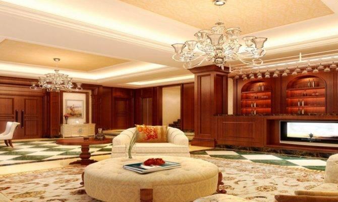 British Luxury Living Room Interior Design