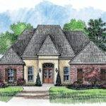 Brookhaven Country French Home Plans