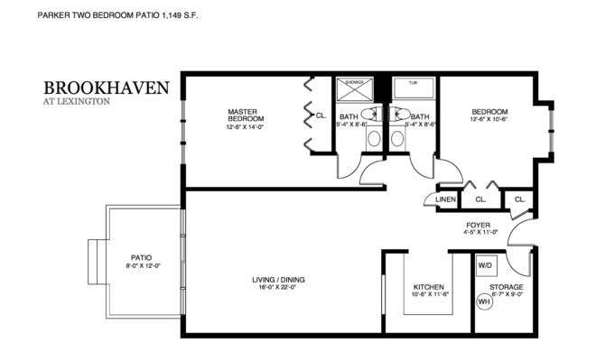 Brookhaven Patio Home Floor Plans
