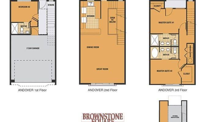 Brownstone Floor Plans Dorchester Essex Plan
