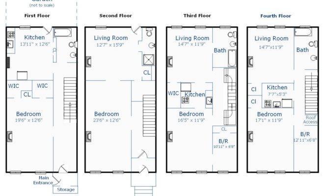 Brownstone Floor Plans Unique House