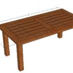 Bryan Diy Cedar Patio Table Plans