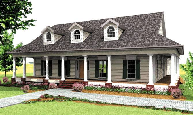 Buckfield Country Home Plan House Plans More
