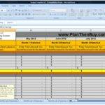 Budget Template Building Cash System