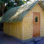Build Blog Bamboo Mat Shed Palm Thatch Roof Mulege