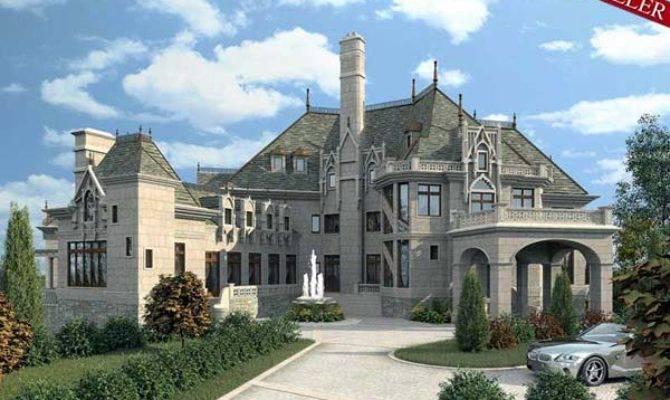 Build Castle Luxury Home Plan